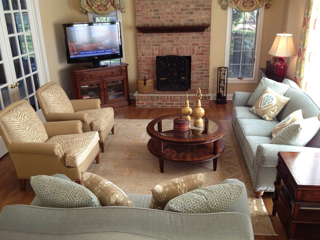Kid friendly family room ideas - A Child And Pet Friendly Home This Casual Living Room And Family