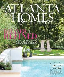 Featured in the April issue of Atlanta Homes & Lifestyles