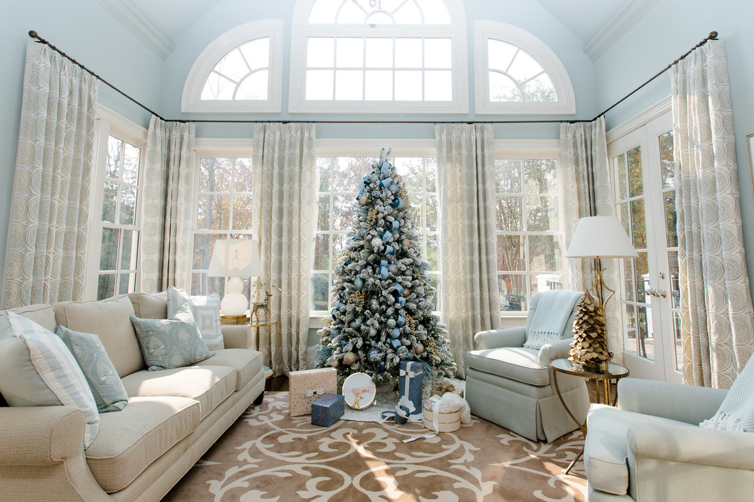 blue christmas - Christmas Decorating Services